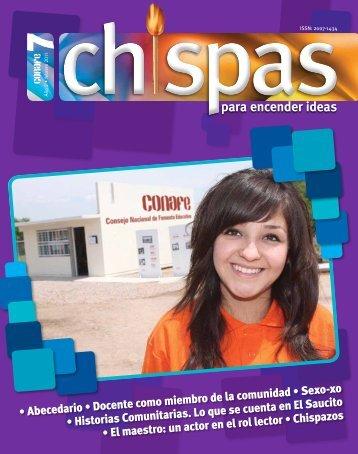 Revista: Chispas No. 7 - conafe.edu.mx