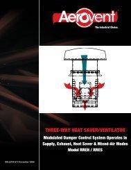 Roof Ventilators Heat Saver and Ventilator - Aerovent