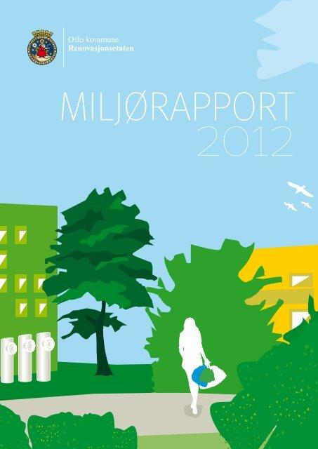 Miljørapport 2012 - Renovasjonsetaten