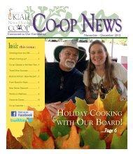 November - December - Ukiah Natural Foods Co-op