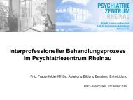 Interprofessioneller Behandlungsprozess - Swiss ANP