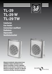 Istruzioni TL-29 - Soler & Palau