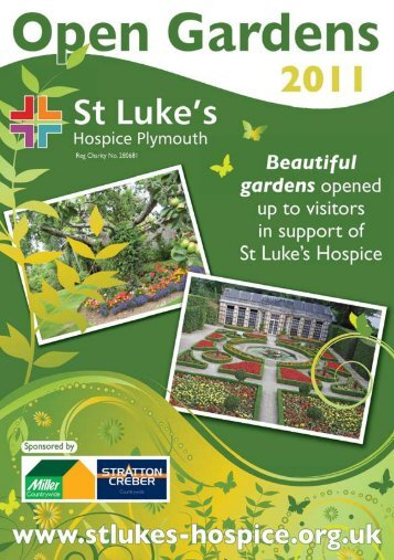 Open Garden Brochure - Tavistock Town Council