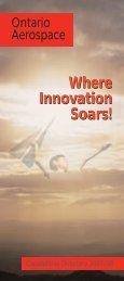 Paris booklet final - Ontario Aerospace Council