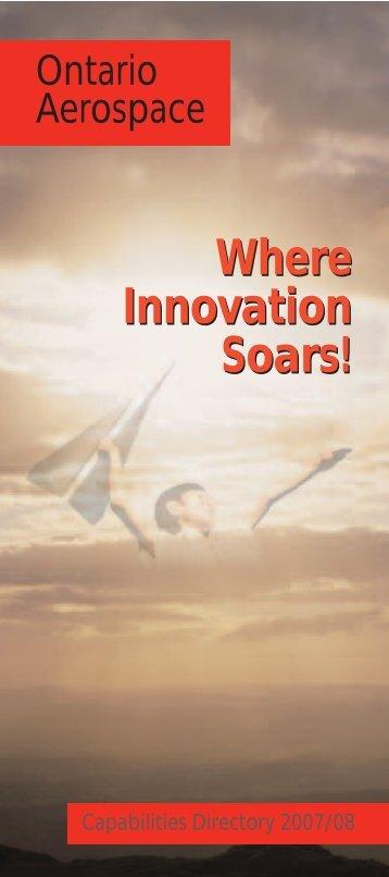 Paris booklet final - Ontario Aerospace Council