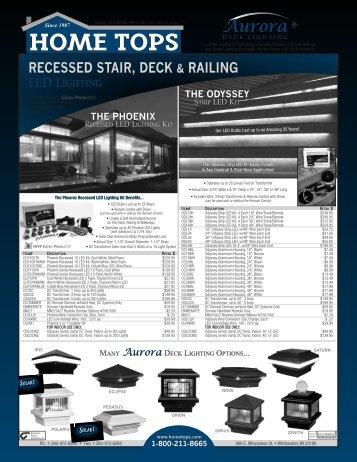 2013 Aurora Retail Price List .73 MB - Hometops
