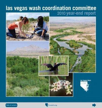 LVWCC Year-End Report, 2010 - Las Vegas Wash Coordination ...