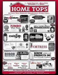 2013 Hometops Retail Price List 2.24 MB