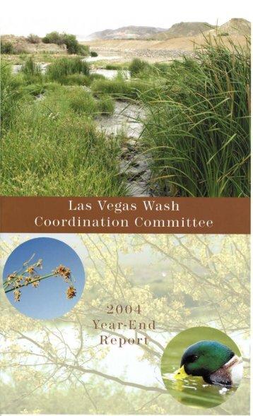 LVWCC Year-End Report, 2004 - Las Vegas Wash Coordination ...