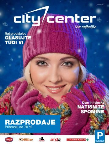 Januar 2012 - Citycenter Celje