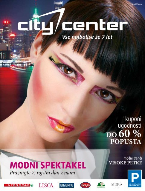 Marec 2013 - Citycenter Celje