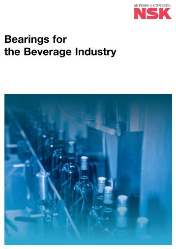 Bearings for the Beverage Industry