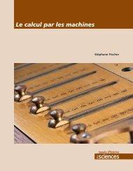 Le calcul par les machines en pdf (3,8M) - Ville de Genève