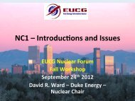 NC1 – Introduc,ons and Issues - EUCG