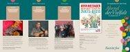 Programm als PDF - Toleranz fördern - Kompetenz stärken