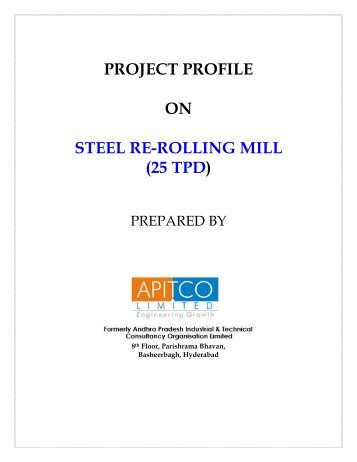 project profile on steel re-rolling mill