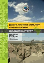 Agricultural Innovations for Climate Change Adaption and Food ...