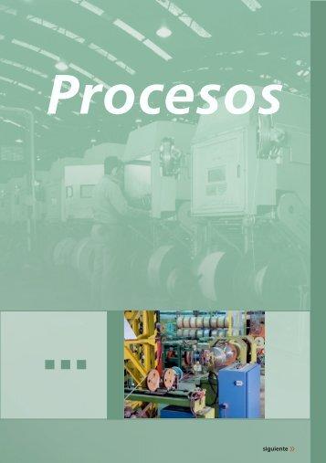 Procesos industriales - Cables Epuyen SRL