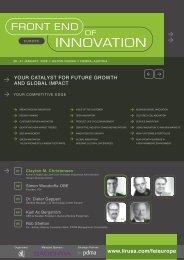 Monday: Customer Driven Innovation - PDMA France