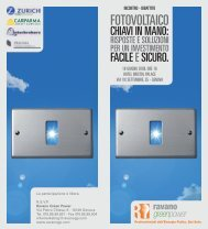 FOTOVOLTAICO - Confindustria Genova