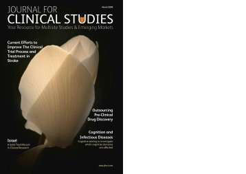 JCS March 2009 - Journal For Clinical Studies