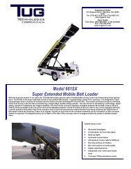 Model 661SX Super Extended Mobile Belt Loader