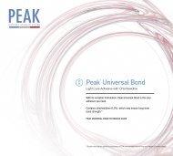 Peak® Universal Bond
