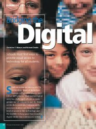 Bridging the Digital Divide - National Association of Elementary ...