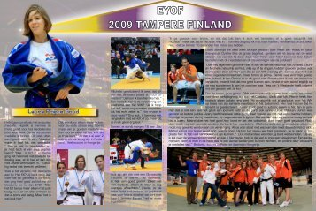 EYOF 2009 TAMPERE FINLAND - Judo Galery 4 All................