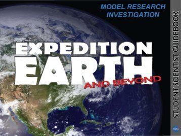 EXPEDITION EARTH AND BEYOND Student Scientist Guidebook ...