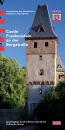 Castle Frankenstein an der Bergstraße - Staatliche Schlösser und ...