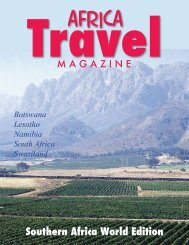 africa - air highways - magazine of open skies, world airlines and ...