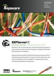Kepware's KEPServerEX - b+i automation