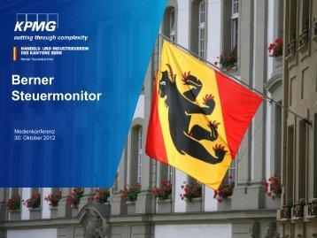 Berner Steuermonitor - Wirtschaftsraum Bern