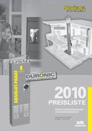 Schiedel PARAT Preisliste 2010 - ais-online.de