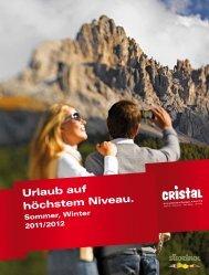 Urlaub auf höchstem Niveau. - Hotel Cristal