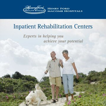 Inpatient Rehabilitation Centers - Henry Ford Health System