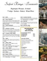 Masai Mara - Voyages Cassis
