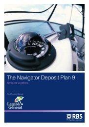 The Navigator Deposit Plan 9 - Adviserzone