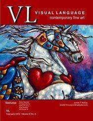 Visual Language Magazine  Contemporary Fine Art February 2014  Vol 3 No 2