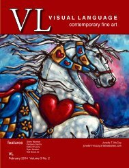 Visual Language Magazine  Contemporary Fine Art February 2014  Vol 3 No 2