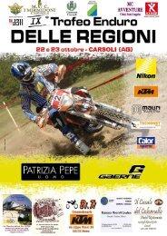 locandina e info Trofeo delle Regioni enduro in ... - Motowinners