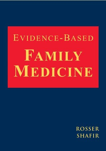 Evidence-Based Family Medicine - SQU Home