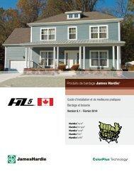 Guide d'installation et de meilleures pratiques ... - James Hardie