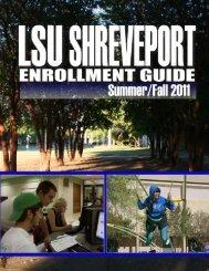 Summer & Fall 2011 - Louisiana State University at Shreveport