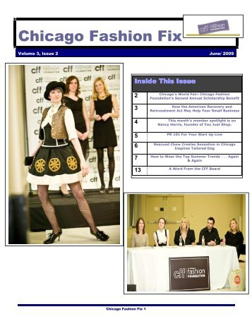 Chicago Fashion Fix - Chicago Fashion Foundation