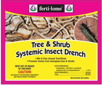 Label Tree Shrub Systemic Insect Drench Approved 03 ... - Fertilome