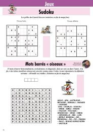 Sudoku Jeux - Le Canard Gascon