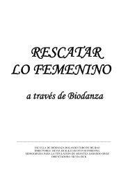a través de Biodanza
