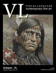Visual Language Magazine Contemporary Fine Art Vol 2 no 10 October 2013